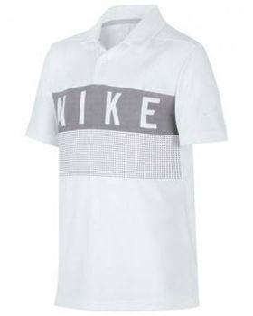 Nike Junior's Dri-Fit Graphic Golf Polo