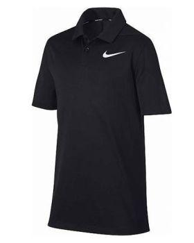 Nike Junior Dry Victory Polo - Black/White