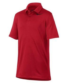 Nike Boy's Dry Victory Polo Shirt - University Red/Black