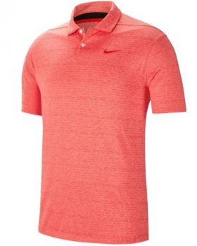 Nike Vapor Heather Polo Shirt - Habanero Red/Pure