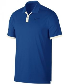 Nike Dry Vapor Solid Polo Shirt - Blue Boid/Sail