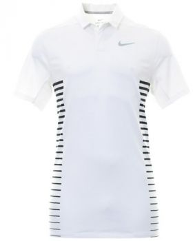 Nike Dry Standard Fit Polo - White/Wolf Grey/Black