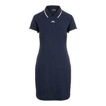 J.Lindeberg Women's April Golf Dress - Navy - 2021