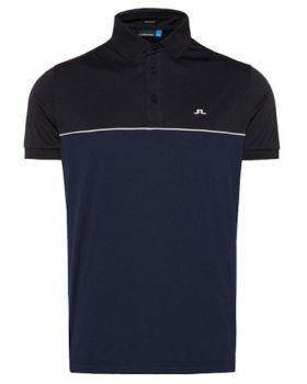 J. Lindeberg Brighton TX Jersey Polo Shirt - Navy