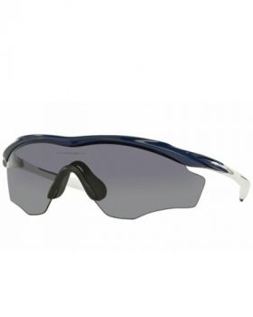 Oakley M2 Frame XL Sunglasses - Polished Navy/Grey