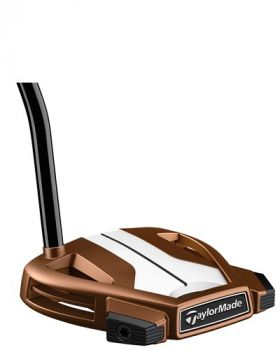 """TaylorMade Spider X Copper/White #3 35"""" Putter - Single Bend"""
