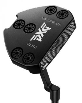 PXG Gen2 Mini Gunboat Black P Neck Putter