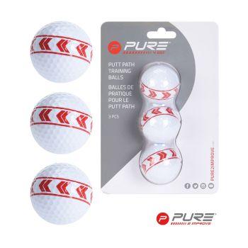 Pure 2 Improve Align Golfballs - Set Of 3