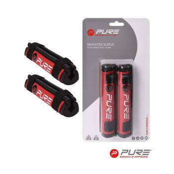Pure 2 Improve Speed Weight - Set Of 2 - Red/Black