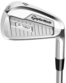 Taylormade P760 Iron Set 4-PW with Steelfiber 110 Stiff Flex Shaft