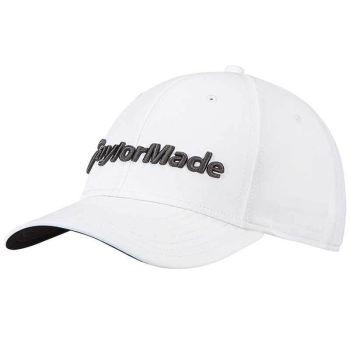 Taylormade 18 Performance Golf Cap - Seeker White