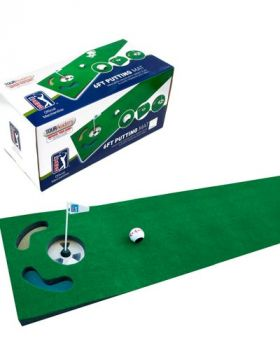 PGA TOUR 6FT PUTTING MAT AND GUIDEBALL