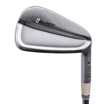 Excellent Condition Ping iBlade Irons 4-PW with Project X 6.5 Steel Shaft