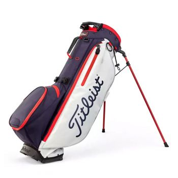 Titleist Players 4 Plus Stand Bag - Navy/White/Red