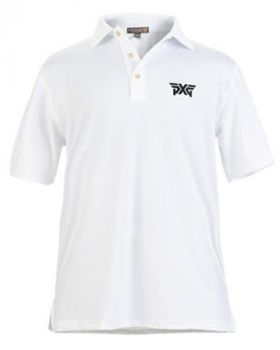 PXG Peter Millar Jersey Polo - White