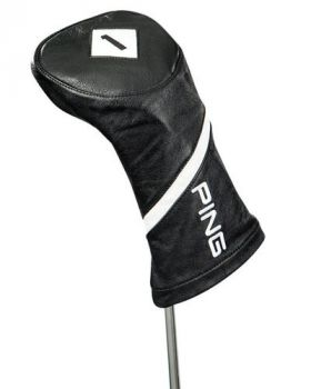 Ping Leather Driver Headcover- Black