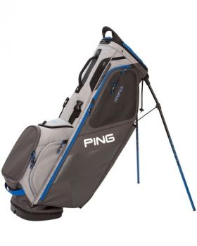 PING Hoofer 181 Stand Bag - Graphite/ Silver/Blue