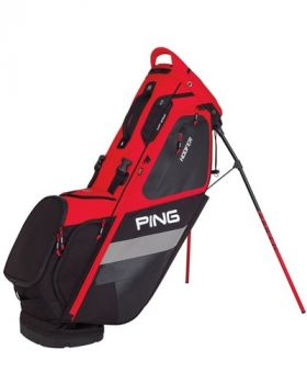 PING Hoofer 181 Stand Bag - Scarlet/ Black/White