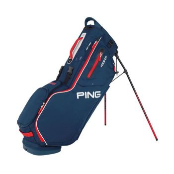 Ping Hoofer 201 Carry Bag - Navy/Red/White