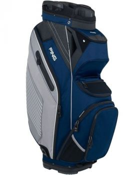 Ping 2018 Pioneer 164 Cart Bag - Navy/Silver