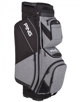 Ping Pioneer 191 Cart Bag - Heather Grey/Black