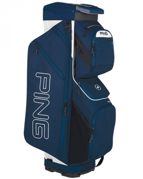 Ping Traverse 191 Cart Bag - Navy/White