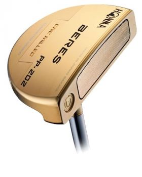 """Honma PP-202 24 Carat Gold Plated Putter with P-D7N 34"""" Shaft"""