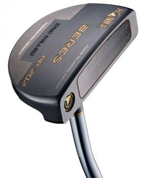 """Honma PP-202 Nickel Black Finish Putter with PHP-D7N 34"""" Shaft"""