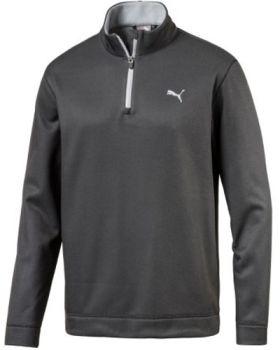 Puma Disruptive 1/4 Zip Jacket - Black/Quarry