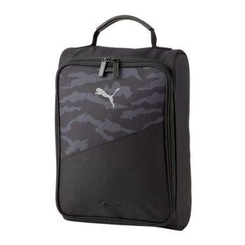 Puma Unisex Golf Shoe Bag - Black/Camo