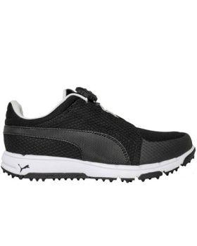 Puma Junior Grip Sport Disc Golf Shoes - Black/White