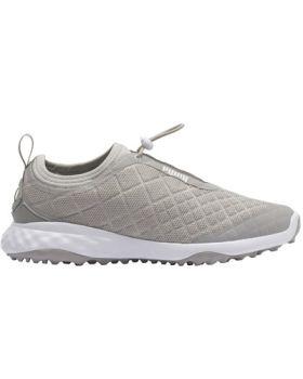 Puma Women's Brea Fusion Sport Golf Shoes - Gray Violet/White