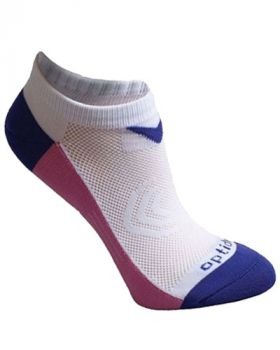 CALLAWAY GOLF WOMEN'S TOUR AUTHENTIC TECH LOW CUT SOCKS - PURPLE