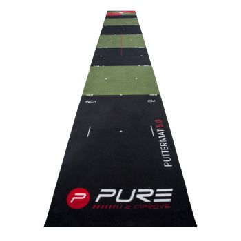 Pure 2 Improve Golf Putting Mat - 5 Meters