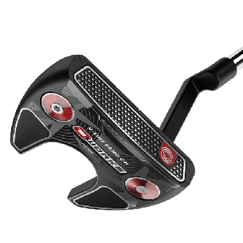 """ODYSSEY O-WORKS V-LINE FANG CH 34"""" PUTTER WITH SUPERSTROKE 2.0"""