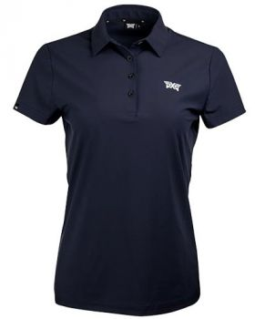 PXG Womens Midnight Wave Polo - LE Navy