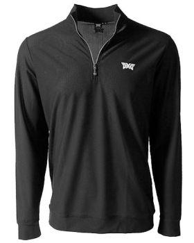 PXG Mesh Quarter Zip Jacket - Black