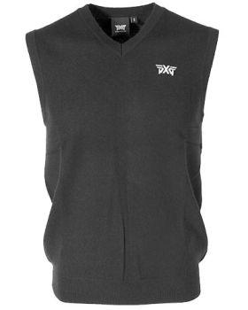 PXG Cashmere Sweater Vest - Black