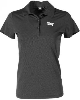 PXG Women's Dot Polo - Black
