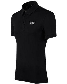 PXG Mens Basic Golf Polo - Black