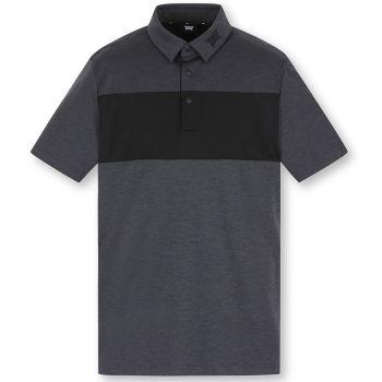PXG Men's Color Block Short Sleeve T-Shirt - Dark Grey
