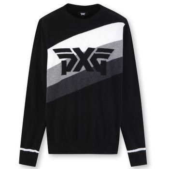 PXG Men's Color Blocks Sweater - Black