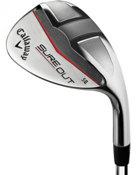 Callaway Sure Out 58* Wedge Steel Shaft - Left Hand