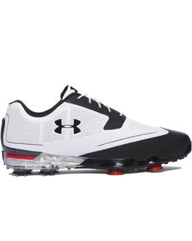 Under Armour Tour Tips Golf Shoes - White/Black
