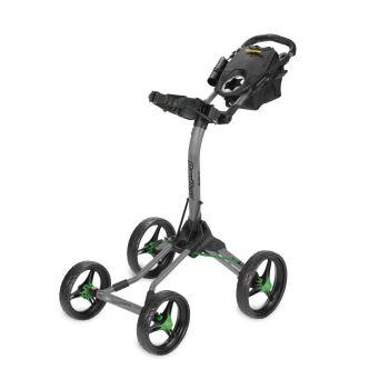 BagBoy Quad XL Push Cart - Gray/Lime