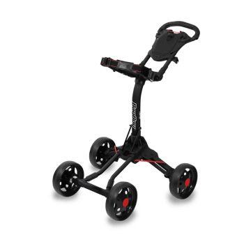 BagBoy Quad Junior Push Cart - Black/Red