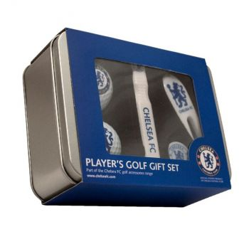 CHELSEA PLAYERS GOLF GIFT TIN