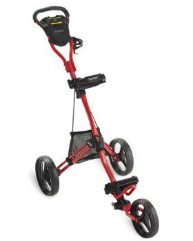 Bag Boy Express DLX Pro Push Cart - Red/Black