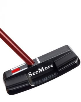 "SeeMore Giant M1t 34"" Putter - Red Tip"
