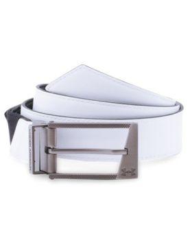 Under Armour Stretch Reversible Belt - White/Black